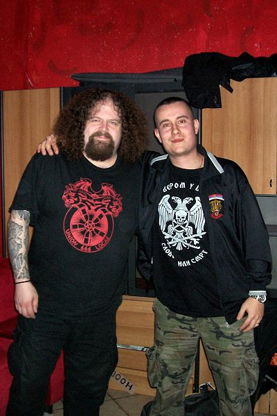Giulio the Bastard and Shane Embury (NAPALM DEATH / BRUJERIA)