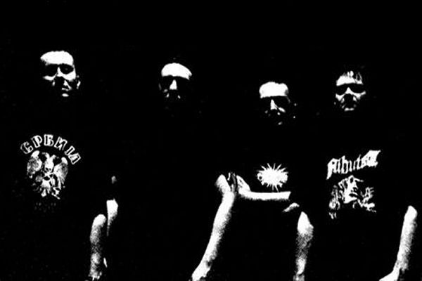 Cripple Bastards - photo from official promo/presskit 2006 also appearing on the Relapse split EP