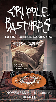 Cripple Bastards Official Website – Controversial hate-grind